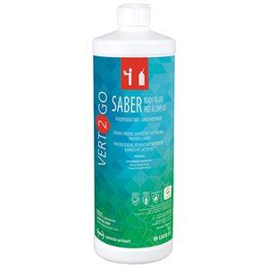 Savon désinfectant et assainisseur pour surface (Saber Vert 2 Go)