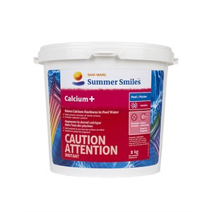 Augmente la dureté calcique (Calcium+)
