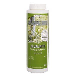 Augmente l'alcalinité (Alcalinité)
