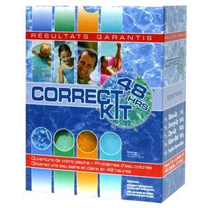 Trousse correctrice pour eau colorée (Correct Kit)