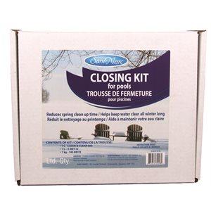 Trousse de fermeture pour tous types de piscines