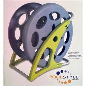 Enrouleur à boyau de piscine